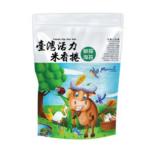 Taiwanese Poporice Roll-Fresh Seaweed