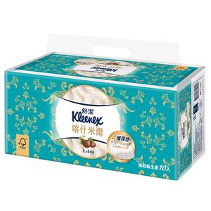 舒潔 喀什米爾 4層抽取衛生紙乳木果精華-90PC