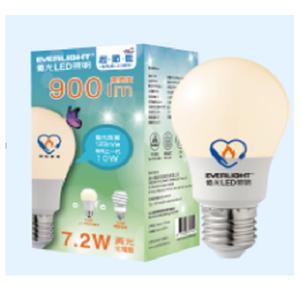 【節能燈具】億光 7.2W超節能Plus球泡燈