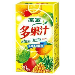 波蜜多果汁TP250ml