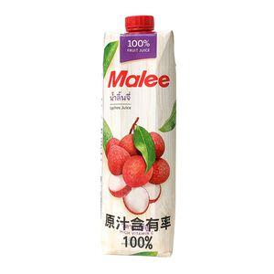 泰國MALEE 荔枝汁原封箱-1000ml