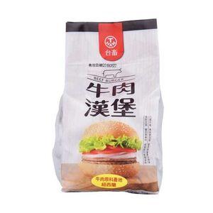 台畜牛肉漢堡肉排-600g
