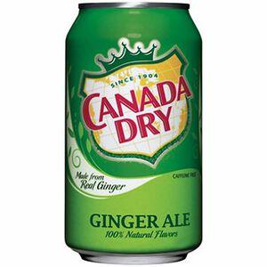 Canada Dry經典風味汽水355mlx24