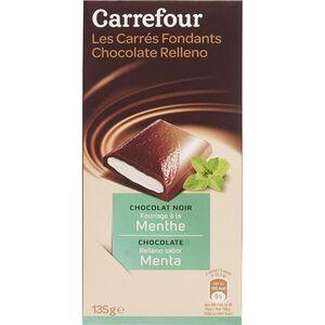C-Mint filled dark chocolate