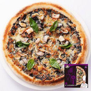 金品薩丁尼亞墨魚雙醬起司比薩
