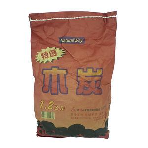 【烤肉用品】特選袋裝木炭-1.2kg