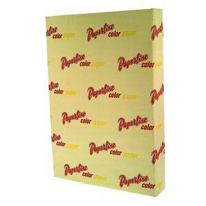 PL110 70g A4 Yellow Copy Paper