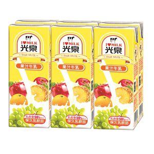 光泉果汁牛乳-200ml