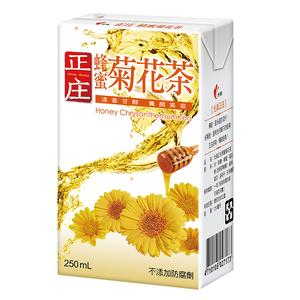 光泉正庄蜂蜜菊花茶250ml