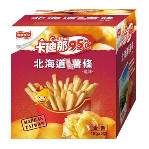 卡迪那95度C 北海道薯條-鹽味