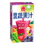 義美寶吉蔬果汁葡萄莓果125ml, , large