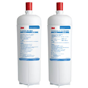 【3M 好水】3M 智慧型雙效淨水系統 DWS6000-ST 雙道替換濾芯組