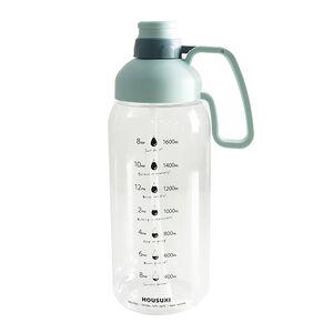 【大專開學購起來】HOUSUXI  TO GO 大容量 TRITAN水瓶1800ML
