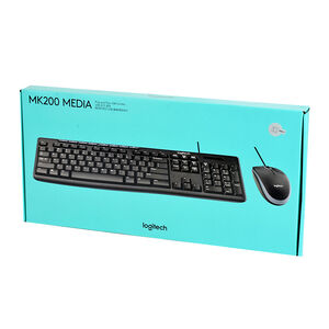 羅技MK200媒體滑鼠鍵盤組