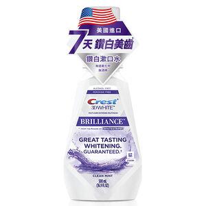 Crest whitening mouthwash