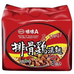 味味A排骨雞麵(袋)90g