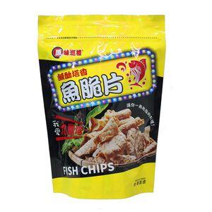 Fish chips-Basil
