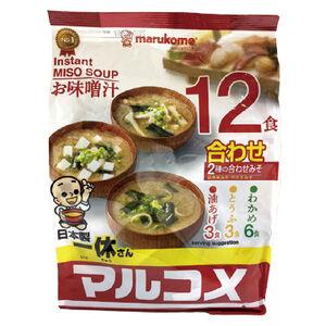 Marukome一休綜合味噌湯12入-216g