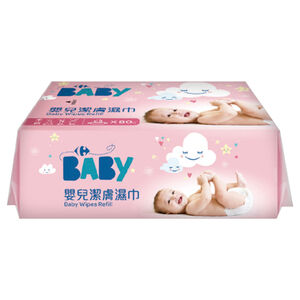 C-Baby Wipes Value-Pink