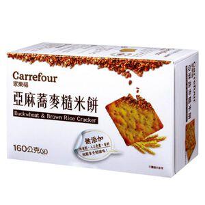 家樂福亞麻蕎麥糙米餅160g