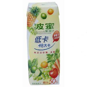 波蜜低卡果菜汁TP250ml