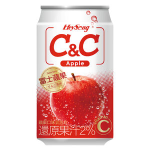 CC Apple Sparkling Drink 330ml