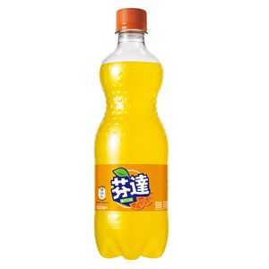 芬達汽水橘子口味600ml