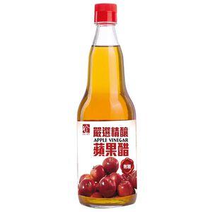 百家珍嚴選精釀無糖蘋果醋-600ml