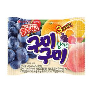 韓國樂天綜合水果QQ糖70g