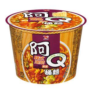 統一阿Q桶麵韓式泡菜麵-102g