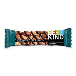BE-KIND dark chocolate nuts $ sea salt