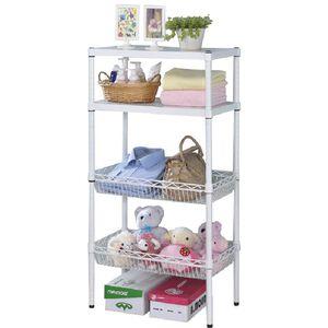 Creative Double ShelvesBaskets set