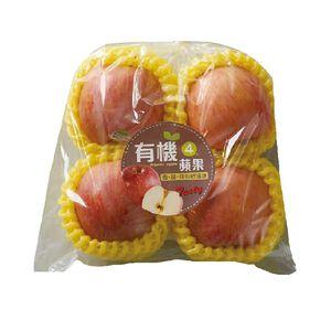 進口有機袋裝蘋果(每袋4粒/600克±10%)