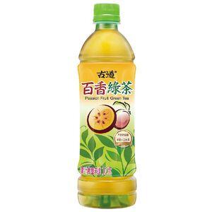 古道百香綠茶微甜Pet600ml