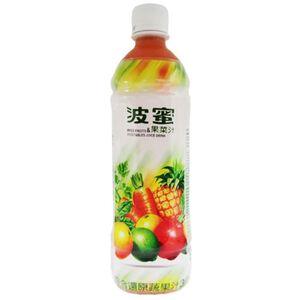 波蜜果菜汁 Pet 580ml