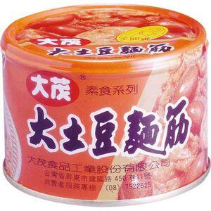 【全素】大茂大土豆麵筋170g易開罐