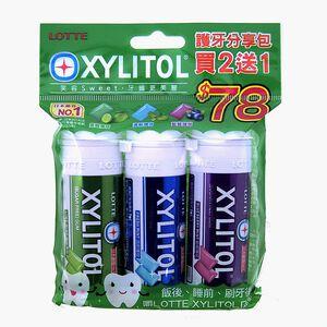 XYLITOL護牙分享包2+1