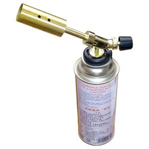 Flame Gun With Gas Bottle