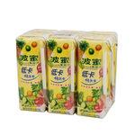 波蜜低卡果菜汁TP250ml, , large
