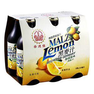 崇德發檸檬黑麥汁Btl330ml