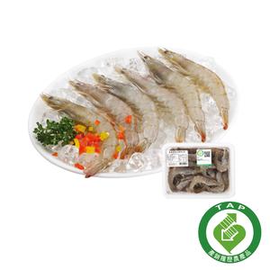 【安心價】履歷冷凍白蝦(每盒約250克)