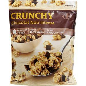 C-DOYPACK Black Choco Crunchy Mues
