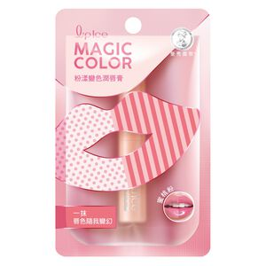 曼秀雷敦Magic Color粉漾變色潤唇膏-蜜桃粉