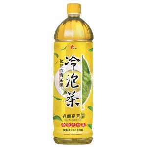 冷泡茶春釀綠茶微甜Pet1235 ml