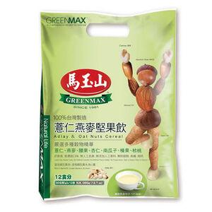 馬玉山薏仁燕麥堅果飲 30克x12