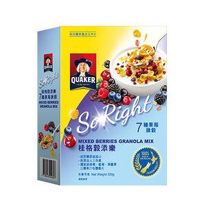Quaker Mixed Berries Granola
