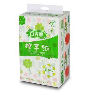 百吉牌 擦手紙巾-150PC張*8包*4袋
