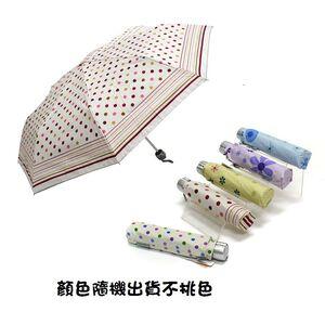 三隻小熊銀膠超輕防風傘/水玉點