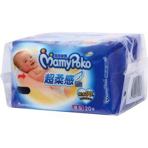 【濕紙巾】滿意寶寶濕毛巾棉柔厚型外出包