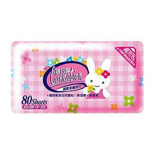 【濕紙巾】康乃馨寶寶潔膚濕巾補充包